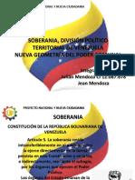 Presentación Soberania, Division Politico Territorial y Comunas