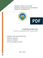 PIB en La Construcción Vial