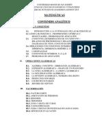 Contenido Analitico de PSA FCEF UMSA