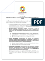 Programa Evento PRIPE – AREQUIPA 2019