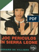 089. Gerard de Villiers - [SAS] - Joc periculos în Sierra Leone [v.1.0].pdf