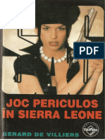 089. Gerard de Villiers - [SAS] - Joc Periculos În Sierra Leone [v.1.0]