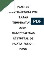 plan de contingencias ante baja temperatura del distrito de Huata Puno Puno.docx