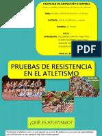 Pruebas de Resistencia Atletismo