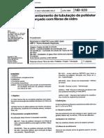 NB 928 - Assentamento de tubulação de poliester reforçado com fibra de vidro.pdf