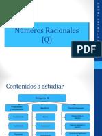 Conjunto Números Racionales