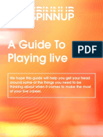 Spinnup Guide to Playing Live