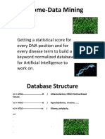 Genome Data Mining