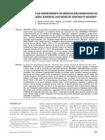 Artigo 01 -MC, Avaliação Do Conhecimento de Médicos Não-radiologistas Sobre Reações Adversas