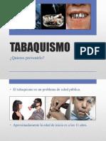 TABAQUISMO Quieres Prevenirlo