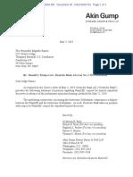 Deutsche Bank Letter