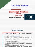 Enviando - IMOBILIARIO 07 - DOCUMENTACAO IMOBILIARIA - PROF. KIKUNAGA - 08.11.14 - tarde (1).pdf
