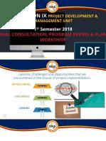 Region Ix Pdmu Consultative