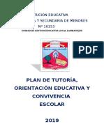 Plan de Trabajo Tutorial 2019