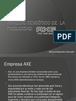 Análisis Semiótico de La Publicidad Axe