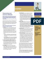 exercise newsletter  pdf