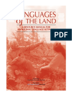 Languages of the Land - A Resource Manual for Aboriginal Language Activists