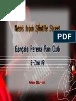 Gonçalo Pereira Fan Club - Webzine 5