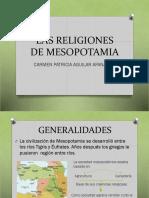 Las Religiones de Mesopotamia