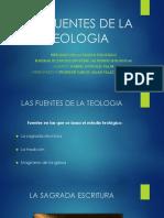 Las Fuentes de La Teologia [Autoguardado]