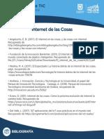 7. Blbliograf InternetCosas Nivel B