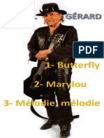 Danyel Gérard [3 Partitions]
