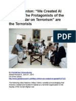 """Hillary Clinton- """"We Created Al  Qaeda"""". The Protagonists of the  """"Global War on Terrorism"""" are  the Terrorists-4.pdf"""