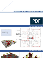 Sistema Constructivo Conjunto Residencial san felipe
