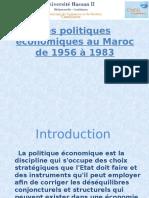 Les politiques économiques au Maroc de 1956 à 1983