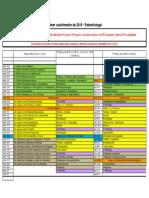 Cronograma Paleontologia UBA 2019