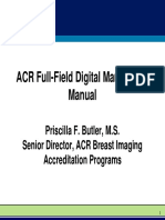 04 ACR Full Field Digital Mammo QA Manual