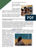 Definición de Planeamiento Educativa
