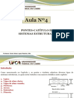 Aula Nº4 Pontes - Sistemas Estruturais - Prof. Erwin Lopez P.