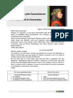 De Petrarcha Illo Patre Humanistarum