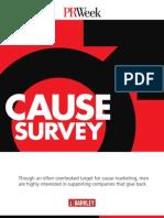 Cause Survey 2010