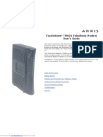 touchstone_tm601.pdf