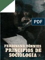 Tonnies Ferdinand - Principios De Sociologia.pdf