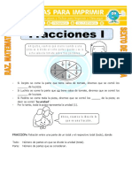 Gráficas de Fracciones Para Sexto de Primaria
