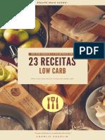 23 Receitas Low Carb - Aqui