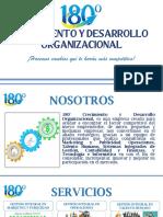 PORTAFOLIO DE SERVICIOS 180°CDO
