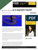 ¿Cómo Detectar La Depresión Infantil_ _ CNN