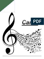 Cudernillo Canto PDF