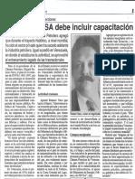 Edgard Romero Nava y Las Inversiones - Plan de PDVSA Debe Incluir Capacitacion - 04.11.1991
