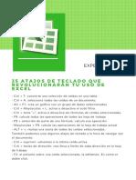 Excel Atajos Del Teclado Para Convertirte en Un Experto