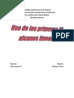 uso de los primeros alcanos lineales.docx