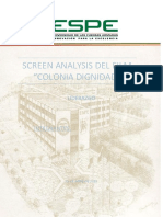 Screen Analisis La colonia