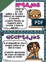 Acertijos Faciles de Matematicas Para Niños Parte 2