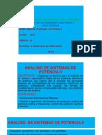 Analisis de Sistemas de Potencia Uncp