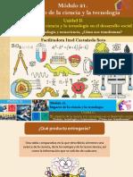 Act. 6 Ciencia, Tecnología y Tecnociencia, Cómo Nos Transforman/M21
