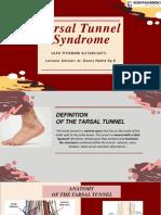 Tarsal Tunnel Referat stase neuro